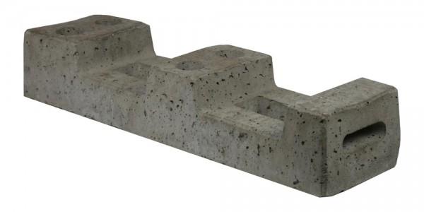 Bauzaunfuss aus Beton (180 mm Breite)