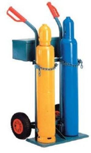 Gasflaschenwagen für 2 Gasflaschen mit 2 Holmen