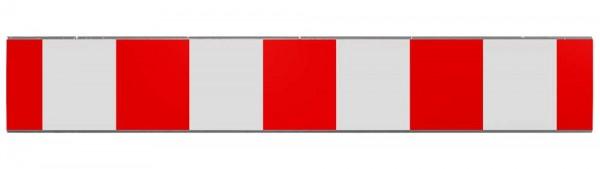 Absperrschranke 250mm hoch für Bau-Schrankenzaun
