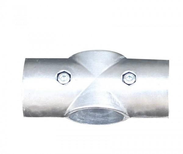 Aluminium-Kreuzstück für Ø 60mm