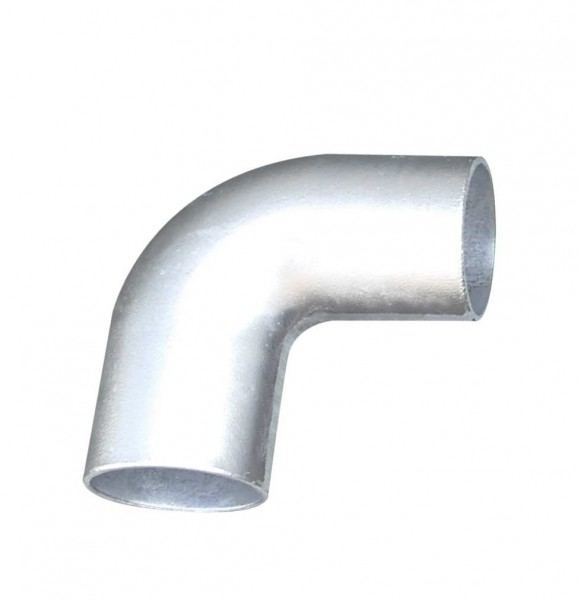 Aluminium-Kniestück für Ø 60mm