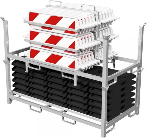 Bakenset mit Lager-und Transportpalette 36NOX-SET2