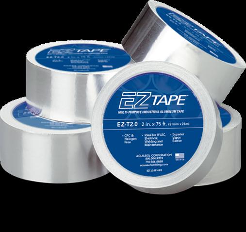 EZ Tape - temperaturbeständige Aluminiumklebeband