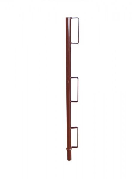 Geländerpfosten, Ø 33,7 mm, zum Einstecken