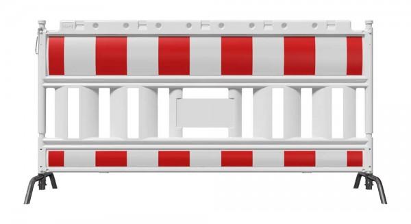 Schake-Euro2-Schrankenzaun, 2,00 m, mit Stahlfuß, schwenkbar