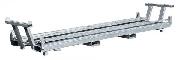 Twintraverse für Bauzäune und Fußplatten