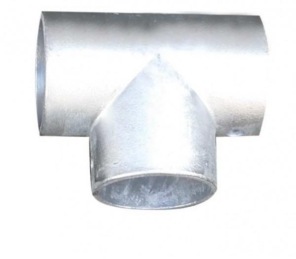 Aluminium-T-Stück für Ø 60mm