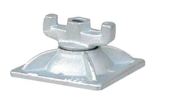 Kombi-Platte für Ankerstab, verzinkt