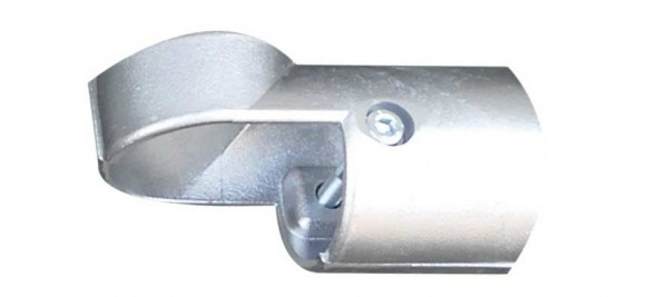 Aluminium-Eckstück für Ø 60mm