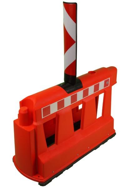 Fahrbahnteiler TEMKA-WALL mit Sichtzeichen